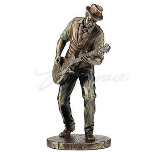 Jazz Band Guitar Player