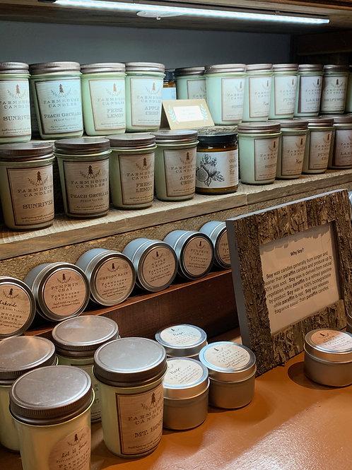 Farm House Soy Candles
