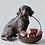 Thumbnail: Resin Dog w/ Basket
