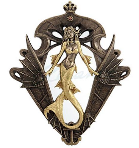 Steampunk Mermaid Wall Mirror