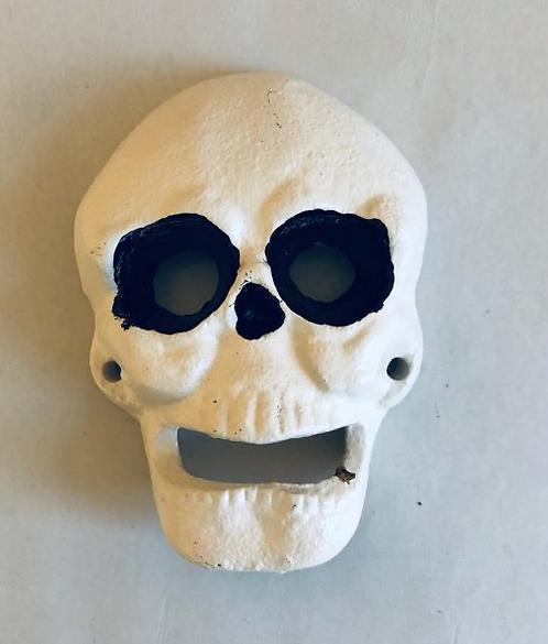 Cast Iron Skull Bottle Opener