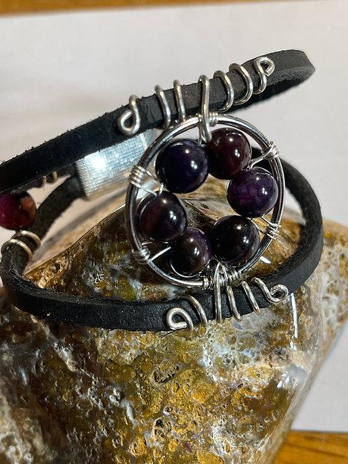 Natural Stone Bracelets Handmade by Shelly