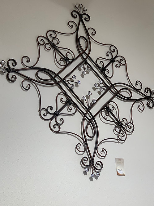 Filigree Metal Wall Art