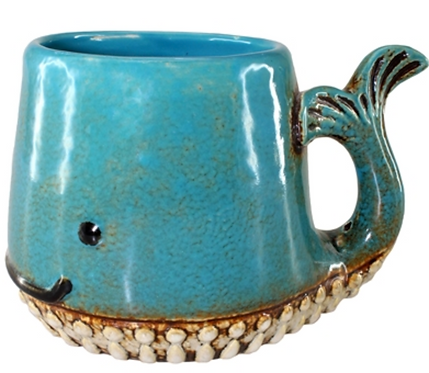 Ceramic Whale Mug