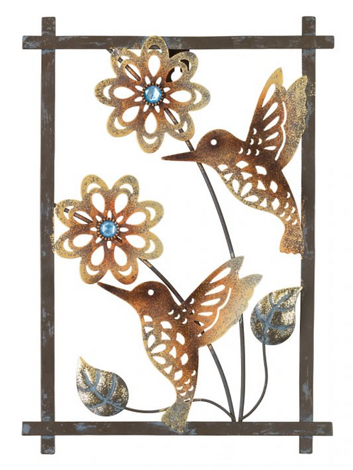 Hummingbird Wall Decor