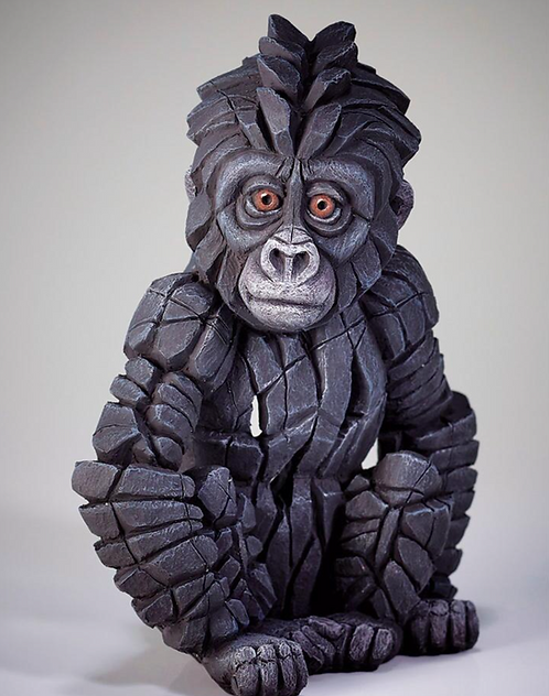 Baby Gorilla - Edge Sculpture