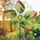 Thumbnail: Wind Spinner ~ Green Leaves