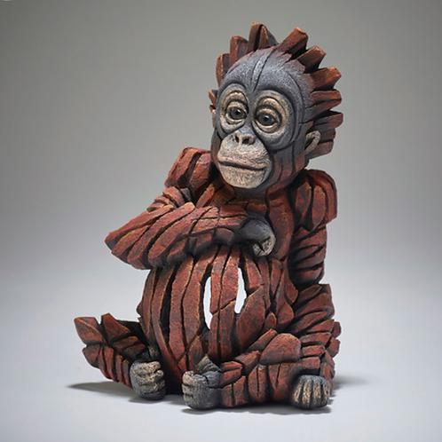 Baby Orangutan - Edge Sculpture