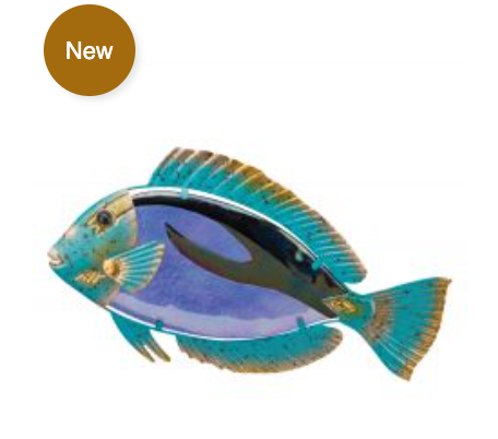 Parrot Fish Wall Decor
