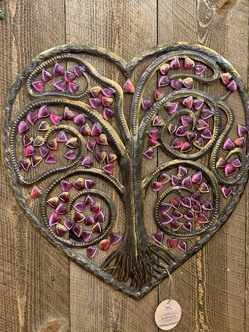 Heart Haitian Metal Art