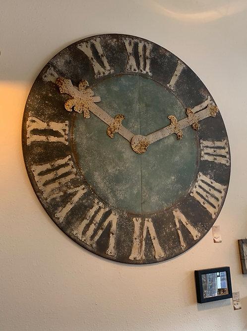 Farm House Wall Clock- Metal Decor