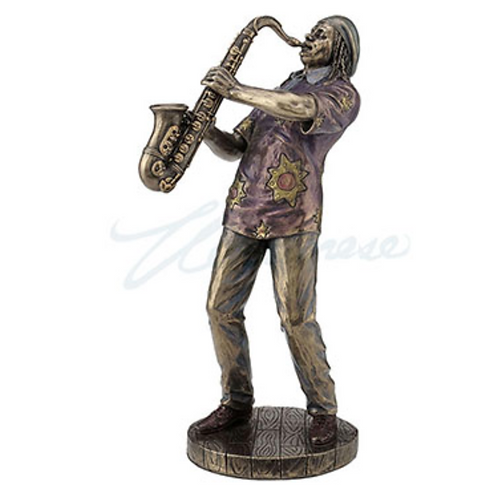 Jazz Band Saxophone Player