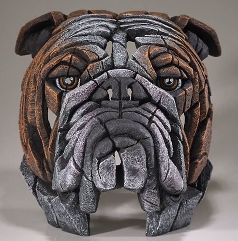 Bull Dog - Edge Sculpture