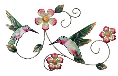 GardenScape Hummingbird Wall Decor