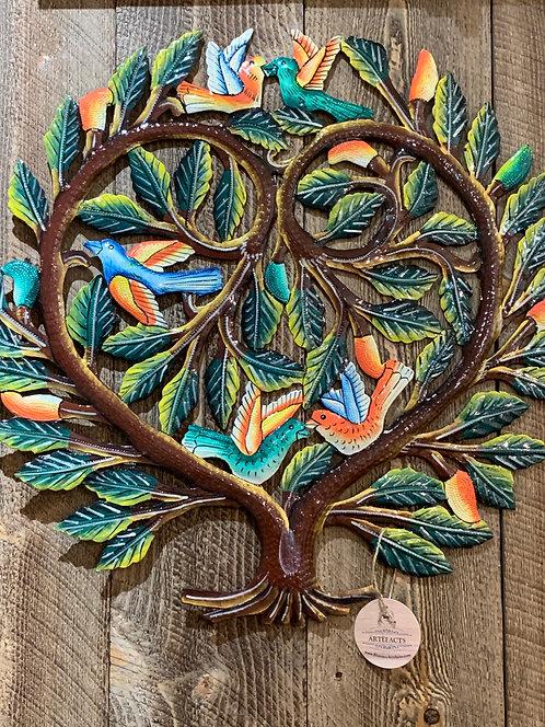 Tree of Life Haitian Metal Art