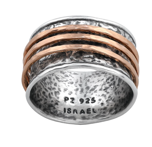 .925 Sterling Silver Spinner Rings - Paz Creations