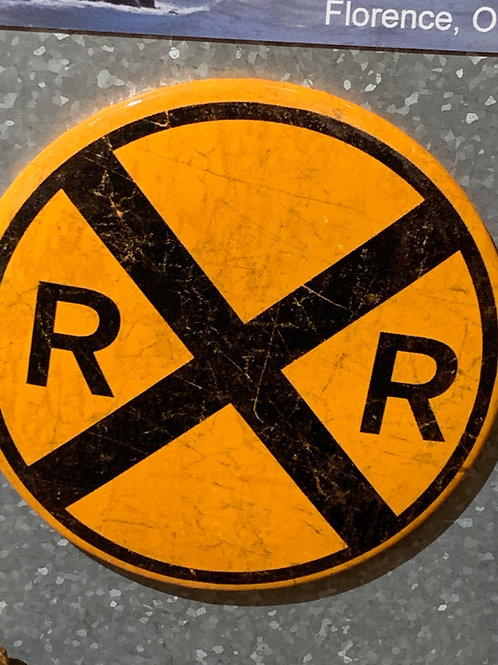 Round Metal Signs