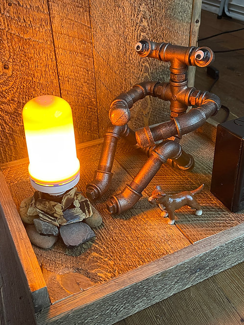 Warm and Cozy - Pipe Art