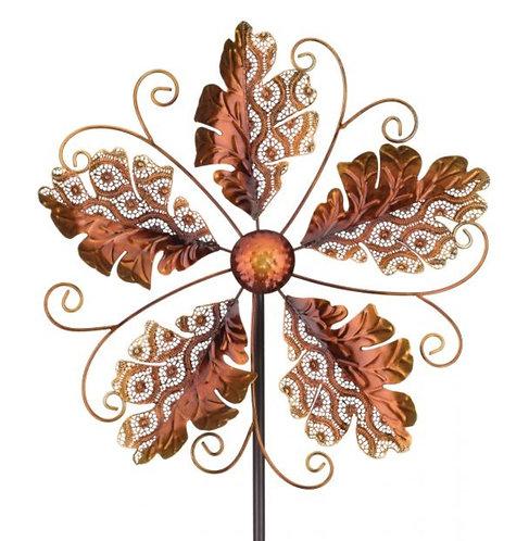 Wind Spinner ~ Gold Leaves