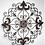 Thumbnail: Filigree Metal Wall Art in Rustic Brown or Teal