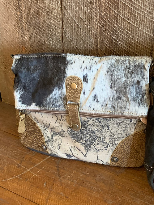Cowhide and Canvas Bags