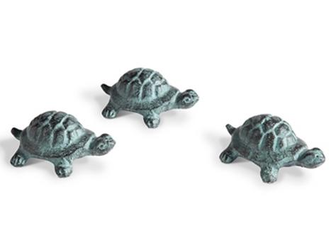 Cast Iron Miniature Turtle