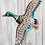 Thumbnail: Metal Mallard Wall Decor