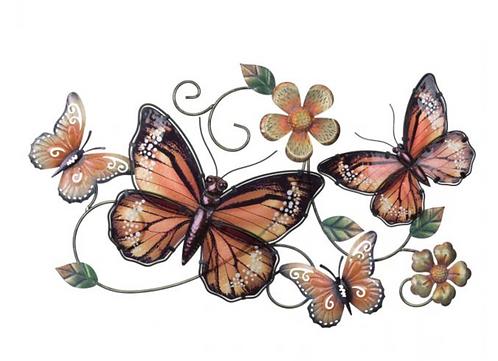 Gardenscape Butterfly Wall Decor