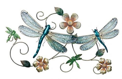 GardenScape Dragonfly Wall Decor
