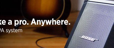 S1 Pro, el último altavoz presentado por Bose