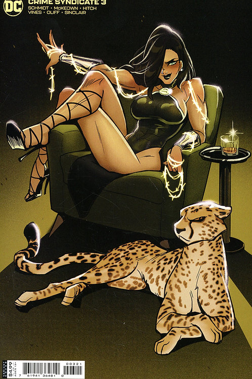 Crime Syndicate #3 Babs Tarr Variant