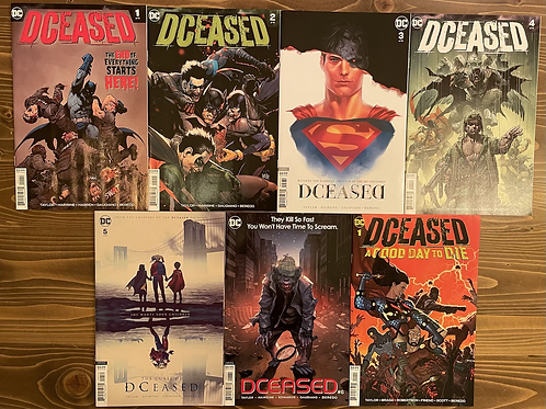 DCeased #1-2-3-4-5-6+A Good Day to Die Tam Set