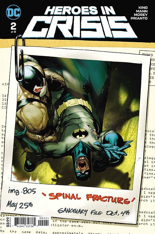 Heroes in Crisis #2 Variant