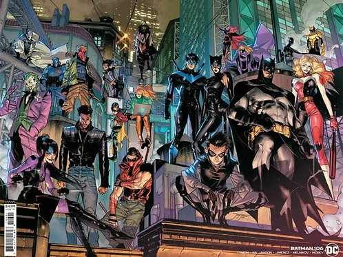 Batman #106 Jorge Jimenez Wraparound Variant