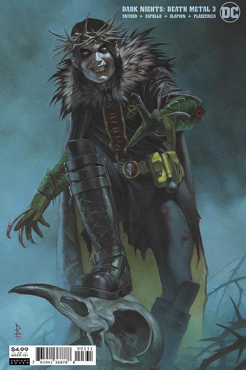 Dark Nights: Death Metal #3 Riccardo Federici Variant
