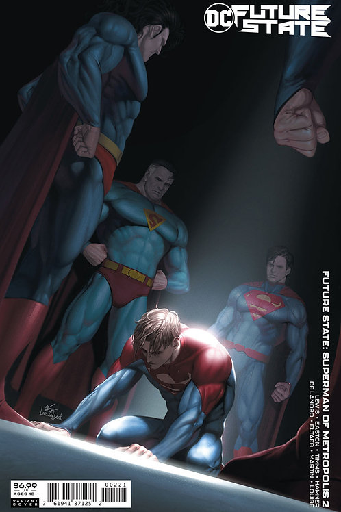 Future State Superman of Metropolis #2 In-Hyuk Lee Variant
