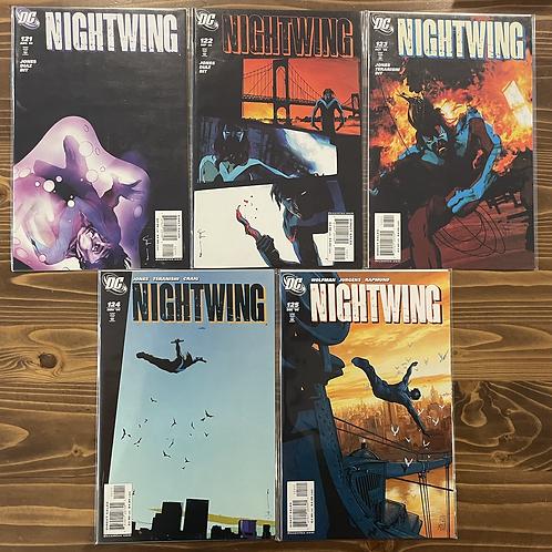 Nightwing #121-122-123-124-125 Set