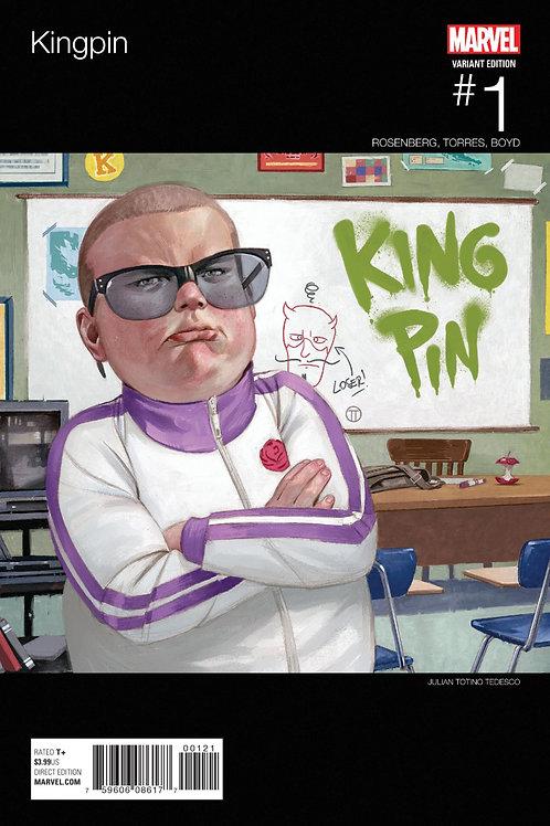 Kingpin #1 Julian Totino Tedesco Hip-Hop Variant