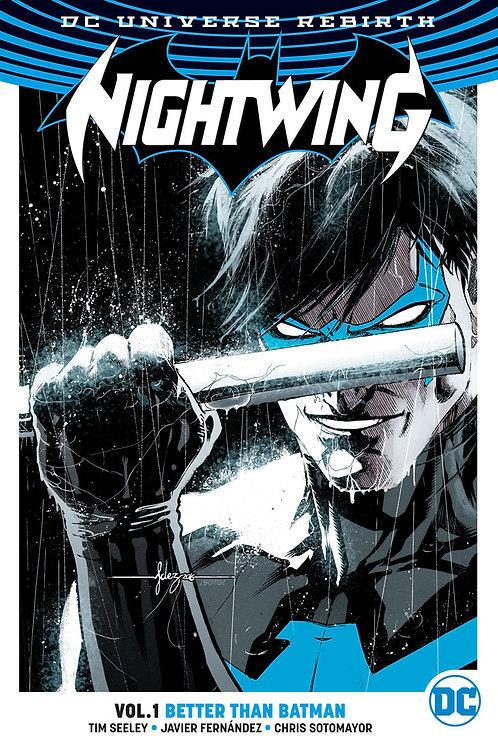 Nightwing Rebirth Vol 1 Better Than Batman
