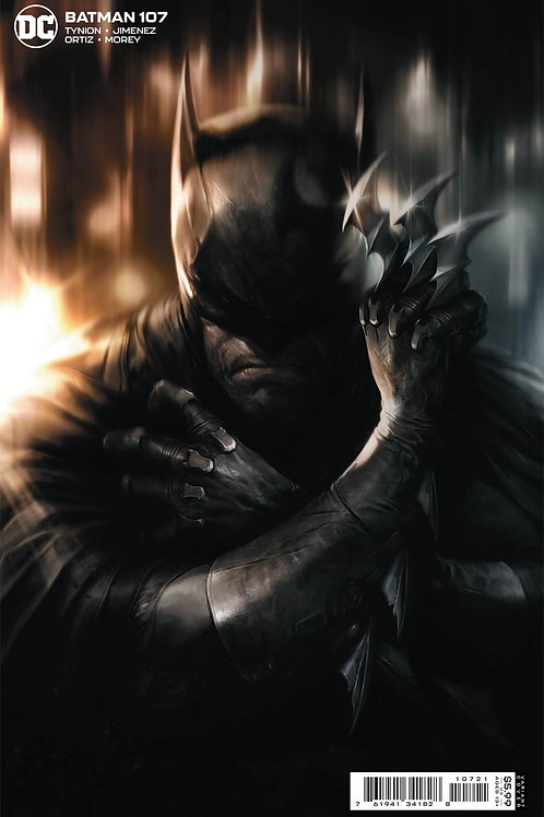 Batman #107 Francesco Mattina Variant