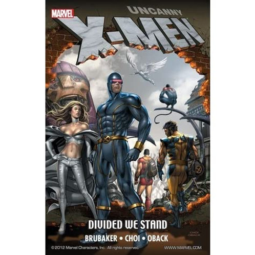 Uncanny X-Men Divided We Stand