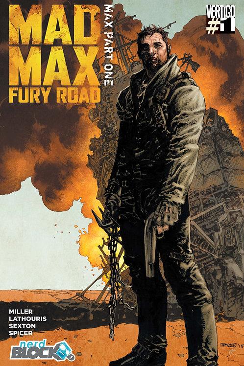 Mad Max Fury Road #1 Jim Lee Nerd Block Exclusive Variant