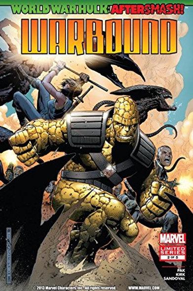 World War Hulk Aftersmash Warbound #2