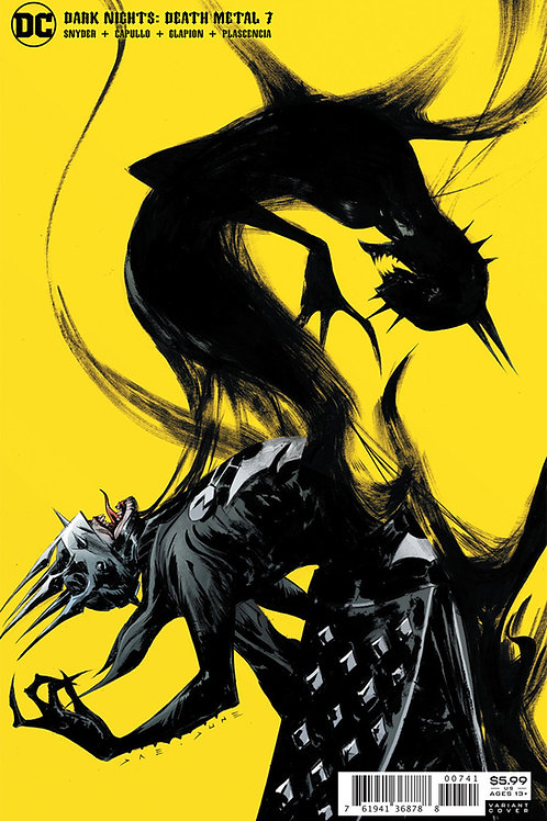Dark Nights Death Metal #7 Jae Lee Variant