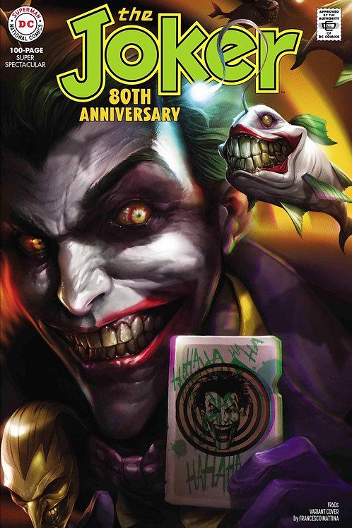 The Joker 80th Anniversary #1 Francesco Mattina 1960s Variant