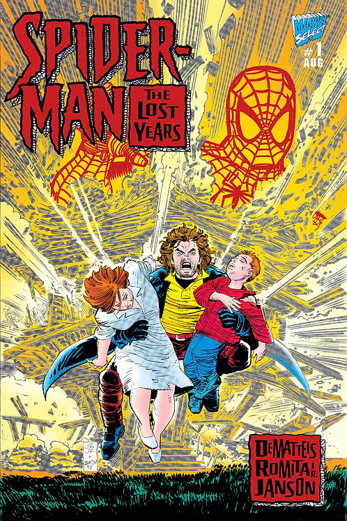 Spider-Man The Lost Years #1 Foil Cover