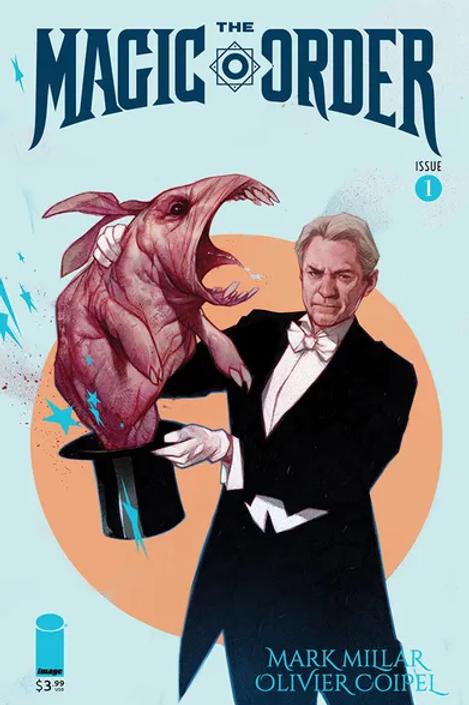Magic Order #1 Forbidden Planet Exclusive Ben Oliver Variant