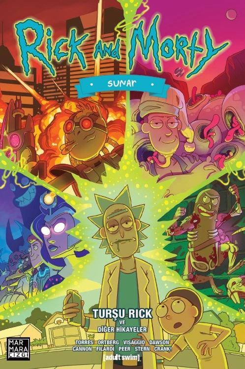 Rick And Morty Sunar: Turşu Rick ve Diğer Hikâyeler