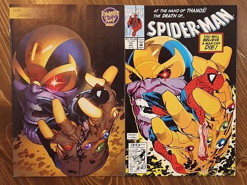 Symbiote Spider-Man Alien Reality #1 Pepe Larraz Variant & Spider-Man #17 Set