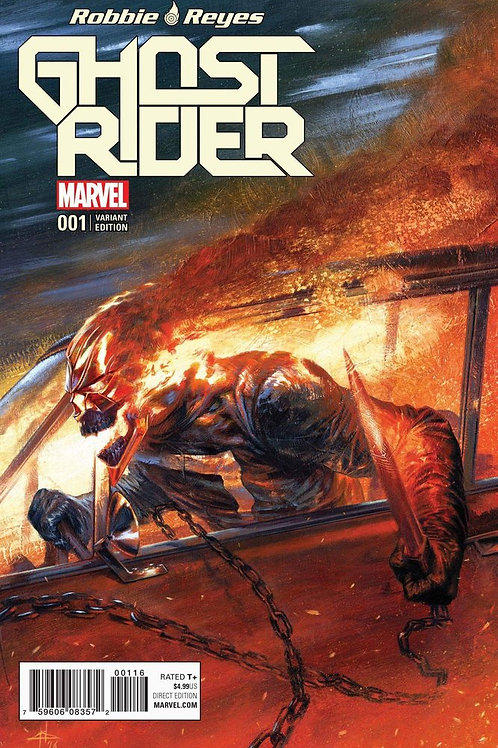Ghost Rider #1 Gabriele Dell'Otto Exclusive Variant